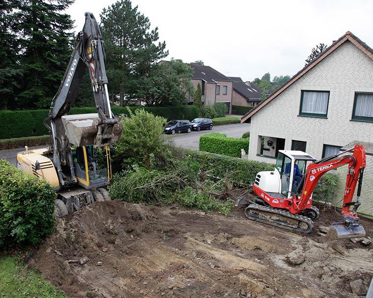 Aushubarbeiten von Briechle in Altusried